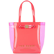 Buy Ted Baker Jemecon Jewelled Bow Small Shopper Bag Online at johnlewis.com