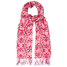 Buy White Stuff Wow Butterfly Scarf, Pink Online at johnlewis.com