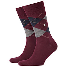 Buy Burlington Edinburgh Argyle Socks, One Size Online at johnlewis.com