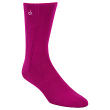 Buy Calvin Klein Cotton Rich Socks, One Size, Pink Online at johnlewis.com