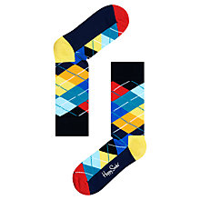 Buy Happy Socks Argyle Socks, Multi, One Size Online at johnlewis.com