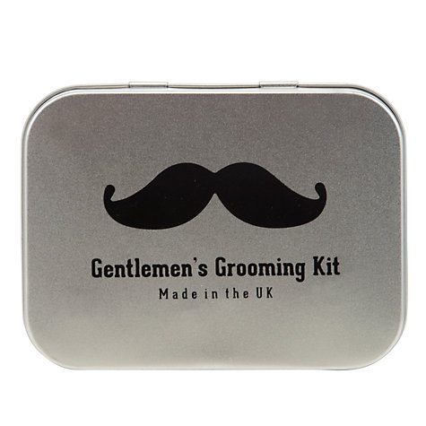 Buy John Lewis Gentleman's Grooming Tin Online at johnlewis.com