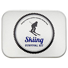 Buy John Lewis Skiing Survival Kit, Silver Online at johnlewis.com