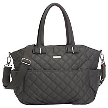 Buy Storksak Bobby Changing Bag, Charcoal Online at johnlewis.com