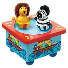 Buy Orange Tree Wooden Noah's Ark Music Box Online at johnlewis.com