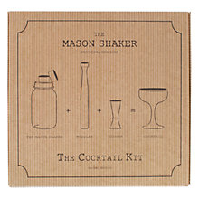 Buy Mason Shaker Cocktail Making Gift Set Online at johnlewis.com