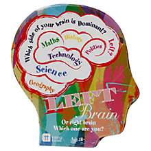 Buy Talking Tables Right Left Brain Trivia Game Online at johnlewis.com