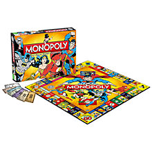 Buy DC Comics Monopoly Online at johnlewis.com