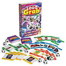 Buy Drumond Park Logo Grab Board Game Online at johnlewis.com