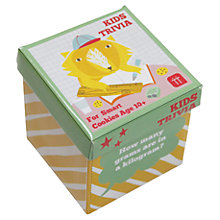 Buy Talking Tables Smart Cookies 10+ Trivia Game Online at johnlewis.com