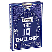 Buy Ginger Fox, Mensa Challenge Your IQ Game Online at johnlewis.com