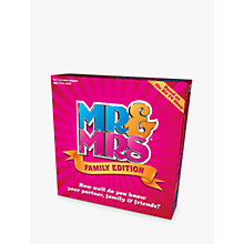 Buy Mr & Mrs Family Edition Online at johnlewis.com