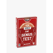 Buy Ginger Fox, Mensa Genius Test Online at johnlewis.com