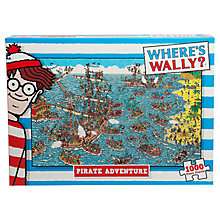 Buy Where's Wally? Pirate Adventure Jigsaw Puzzle Online at johnlewis.com