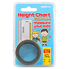 Buy Suck UK Magnetic Height Chart, Yellow Online at johnlewis.com