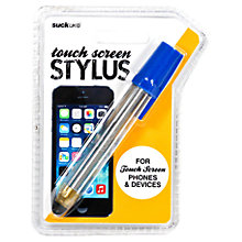 Buy Suck UK Blue Pen Touch Screen Stylus Online at johnlewis.com