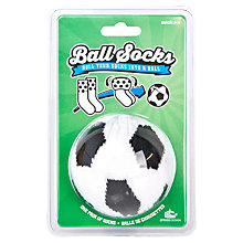 Buy Suck UK Football Ball Socks, One Size, Black/White Online at johnlewis.com