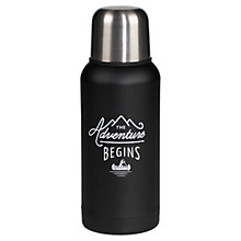 Buy Gentlemen's Hardware Flask, Black Online at johnlewis.com
