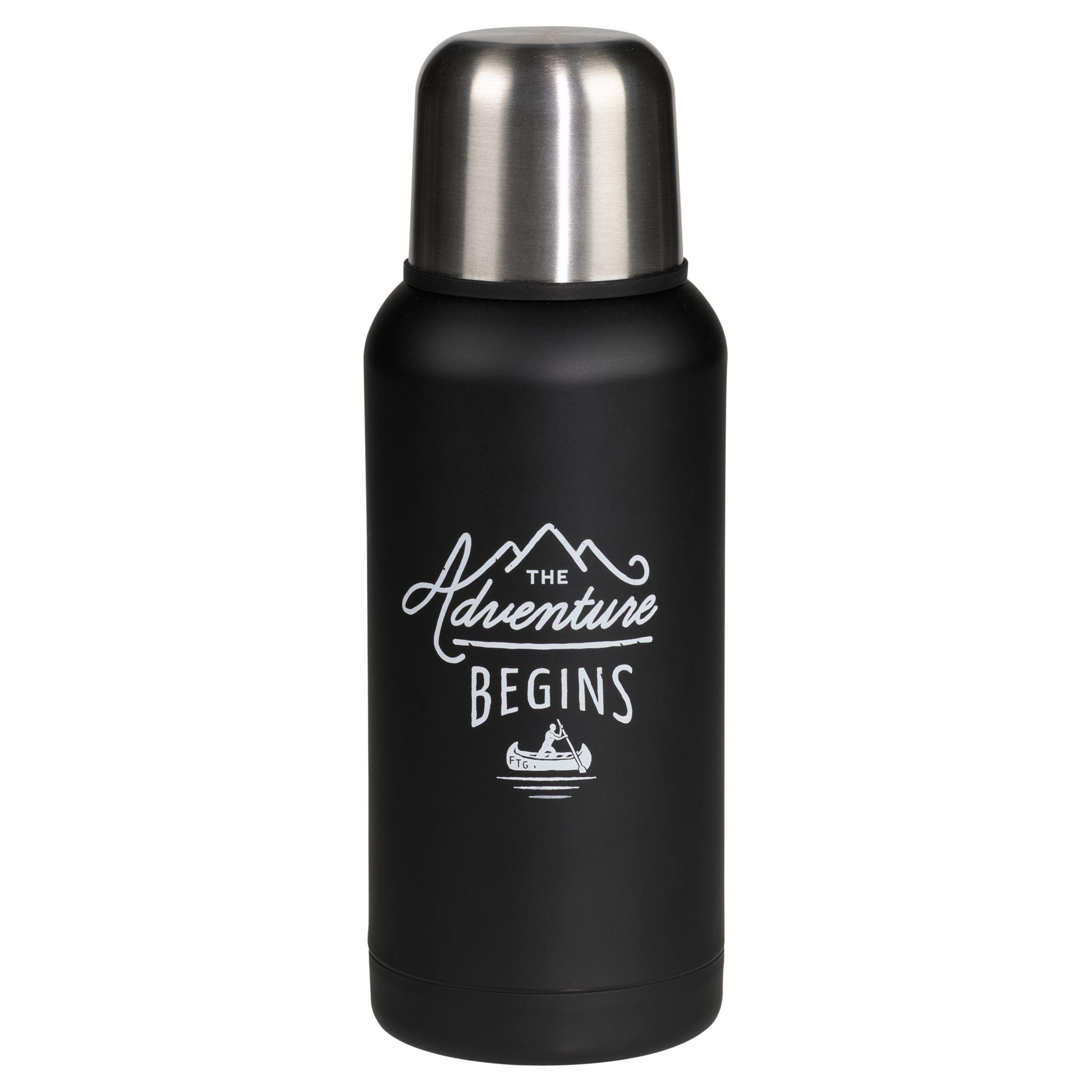 Gentlemen's Hardware Flask, Black