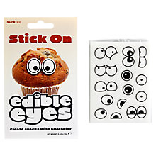 Buy Suck UK Edible Eyes, Black White Online at johnlewis.com