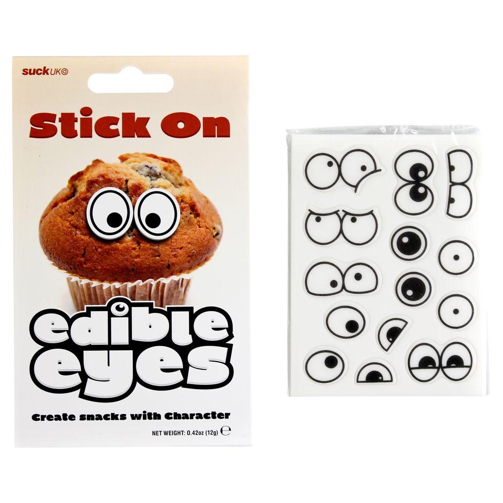 Suck UK Suck UK Edible Eyes, Black White