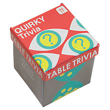 Buy Talking Tables Quirky Trivia Game Online at johnlewis.com