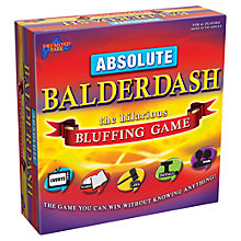Buy Drumond Park Absolute Balderdash Game Online at johnlewis.com