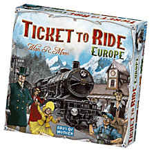 Buy Esdevium Ticket To Ride, Europe Online at johnlewis.com