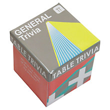 Buy Talking Tables General Trivia Game Online at johnlewis.com