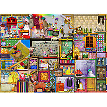 Buy Ravensburger The Craft Cupboard 1000 Piece Jigsaw Puzzle Online at johnlewis.com