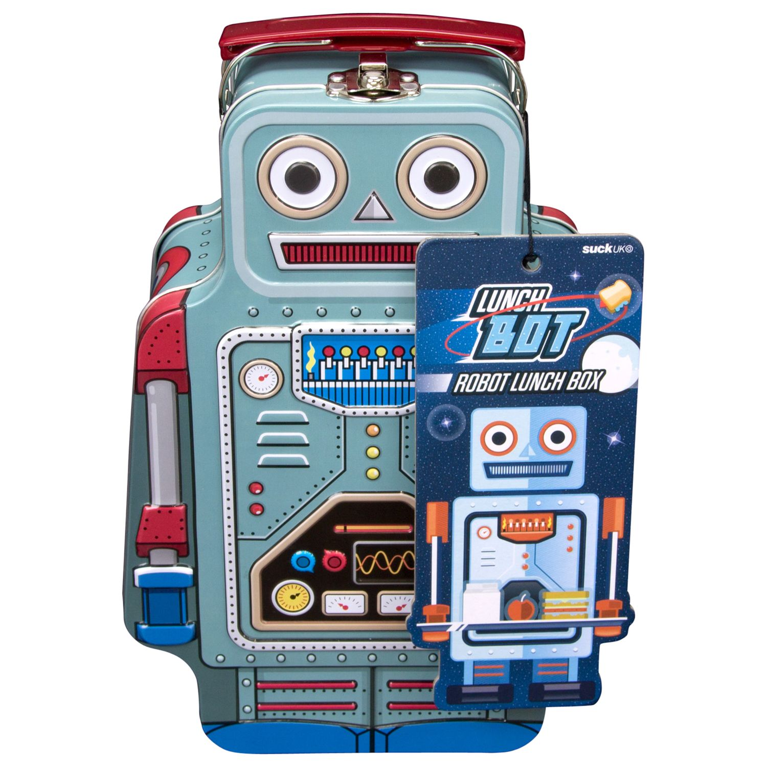 Suck Robot Lunch Box