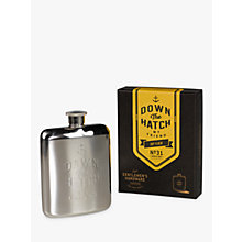 Buy Gentlemen's Hardware Stainless Steel Hip Flask Online at johnlewis.com