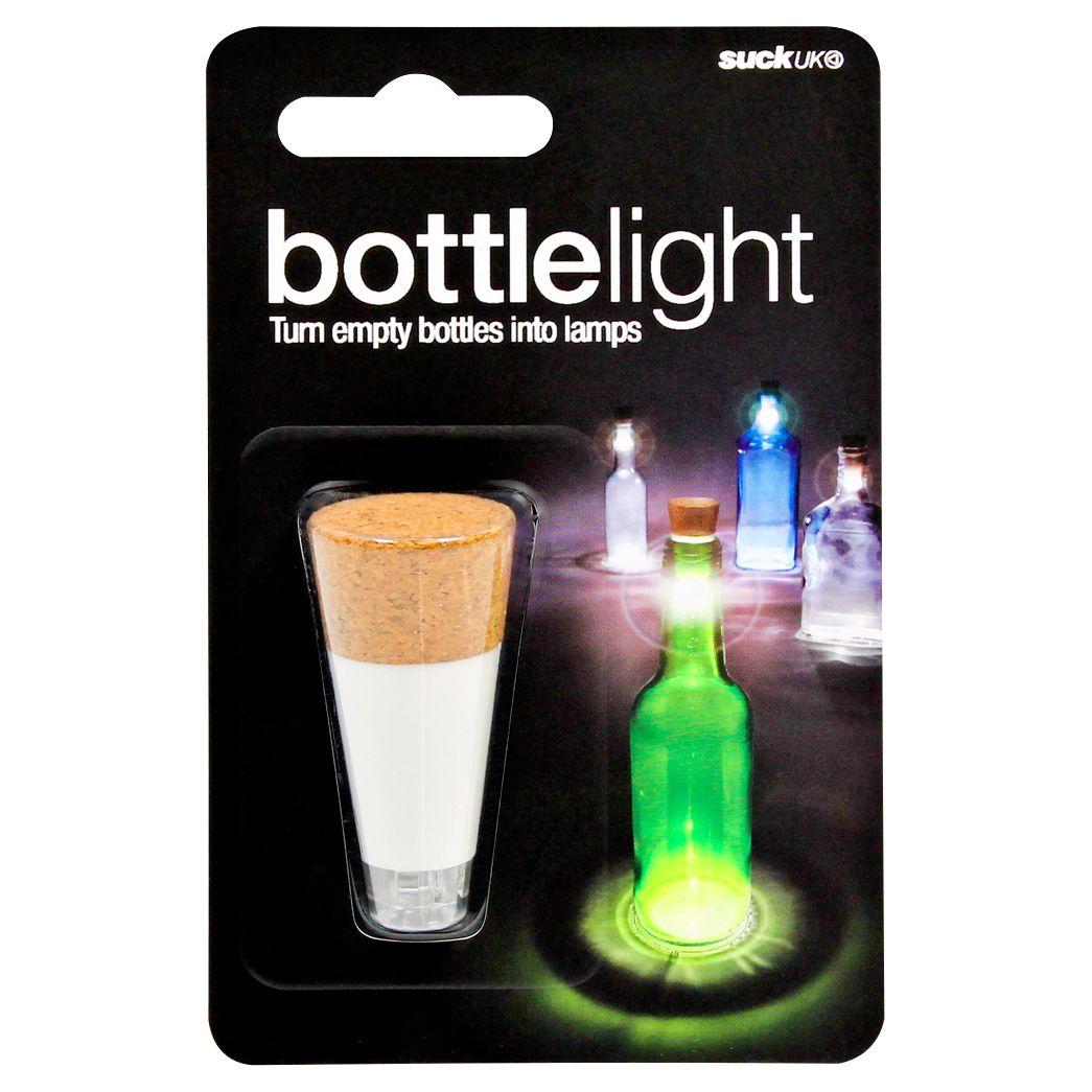 Suck UK Suck UK Cork Bottle Light