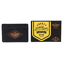 Buy Gentlemen's Hardware Card Holder, Blue/Brown Online at johnlewis.com