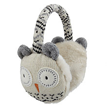 Buy Aroma Home Knitted Owl Earmuffs Online at johnlewis.com