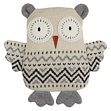 Buy Aroma Home Knitted Owl Hottie Online at johnlewis.com