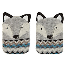 Buy Aroma Home Knitted Fox Hand Warmers Online at johnlewis.com