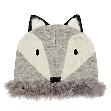 Buy Aroma Home Knitted Fox Hat Online at johnlewis.com