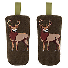 Buy Aroma Home Knitted Stag Shoe Fresheners, Set of 3 Online at johnlewis.com