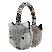 Buy Aroma Home Knitted Fox Earmuffs Online at johnlewis.com