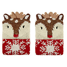 Buy Aroma Home Knitted Deer Hand Warmers Online at johnlewis.com