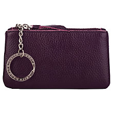Buy Smith & Canova Leather Coin Purse, Imperial Online at johnlewis.com