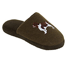 Buy Aroma Home Knitted Dog Slippers, One Size, Green Online at johnlewis.com