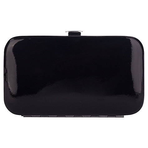 Buy Smith & Canova Leather Manicure Set, Black Online at johnlewis.com