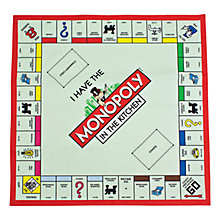 Buy Monopoly Board Tea Towel Online at johnlewis.com