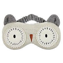 Buy Aroma Home Knitted Owl Eye Mask Online at johnlewis.com