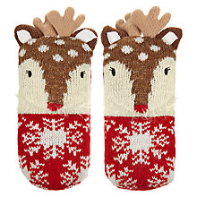 Buy Aroma Home Knitted Deer Shoe Fresheners, Set of 3 Online at johnlewis.com