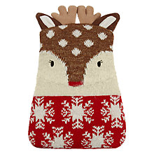 Buy Aroma Home Knitted Deer Hottie Online at johnlewis.com