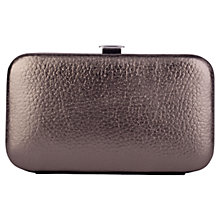 Buy Smith & Canova Leather Manicure Set, Pewter Online at johnlewis.com
