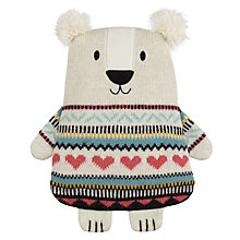 Buy Aroma Home Knitted Polar Bear Hottie Online at johnlewis.com